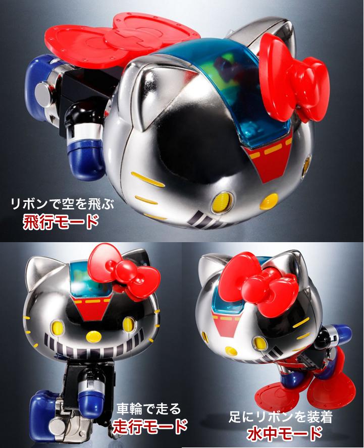 超合金キティちゃんの3モード