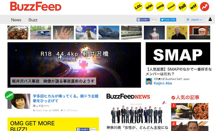 日本版BuzzFeed