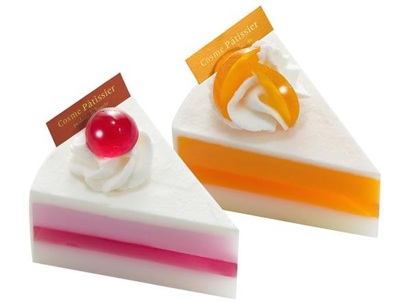 ケーキ石鹸2つ